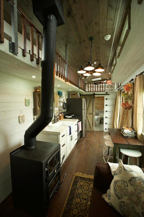 Tiny House Interior - Big Country by VIVA Collectiv