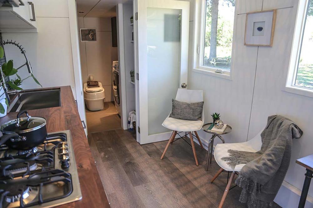 Sitting Area - Tiny House, Big Kitchen by Tiny Heirloom