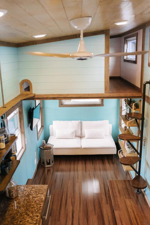 View From Loft - Big Whimsy by Wind River Tiny Homes