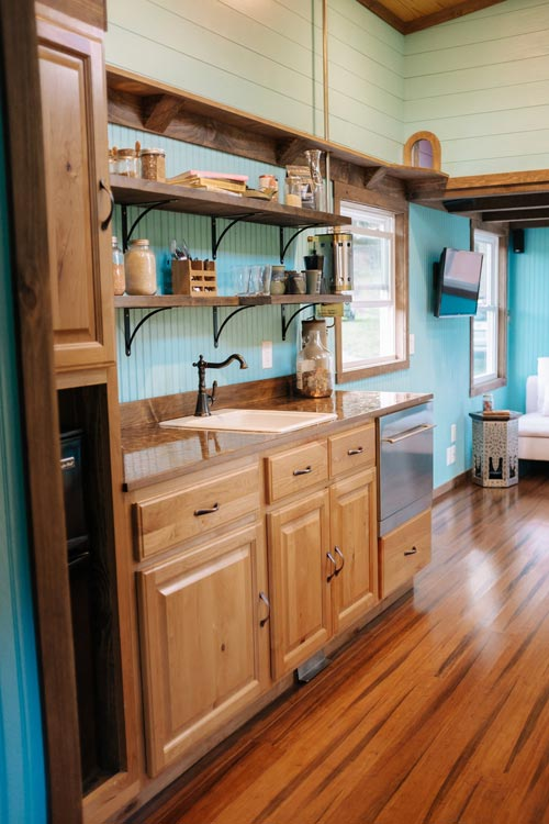 Kitchen - Big Whimsy by Wind River Tiny Homes