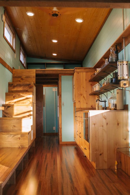 Tiny House Interior - Big Whimsy by Wind River Tiny Homes