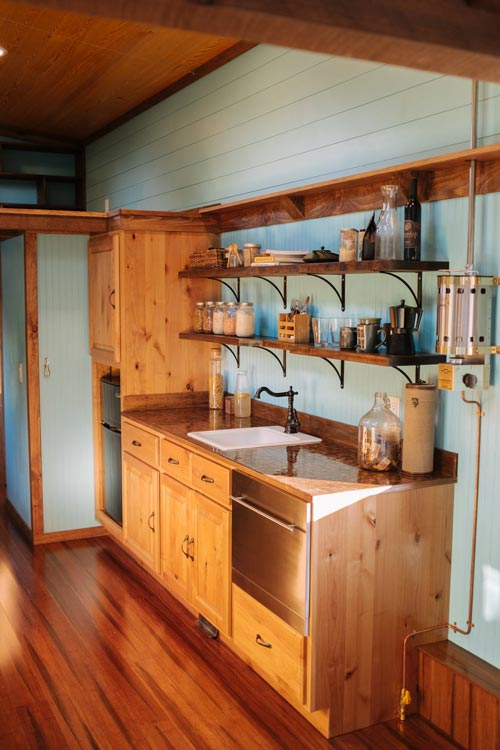 Simple Kitchen - Big Whimsy by Wind River Tiny Homes