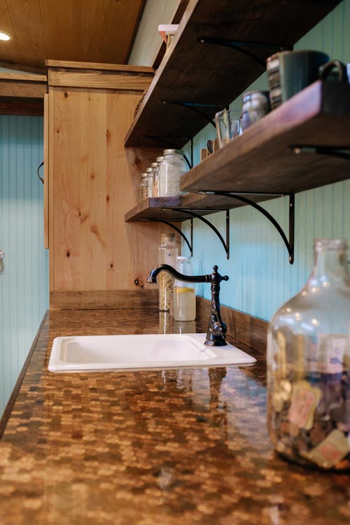Counter Detail - Big Whimsy by Wind River Tiny Homes