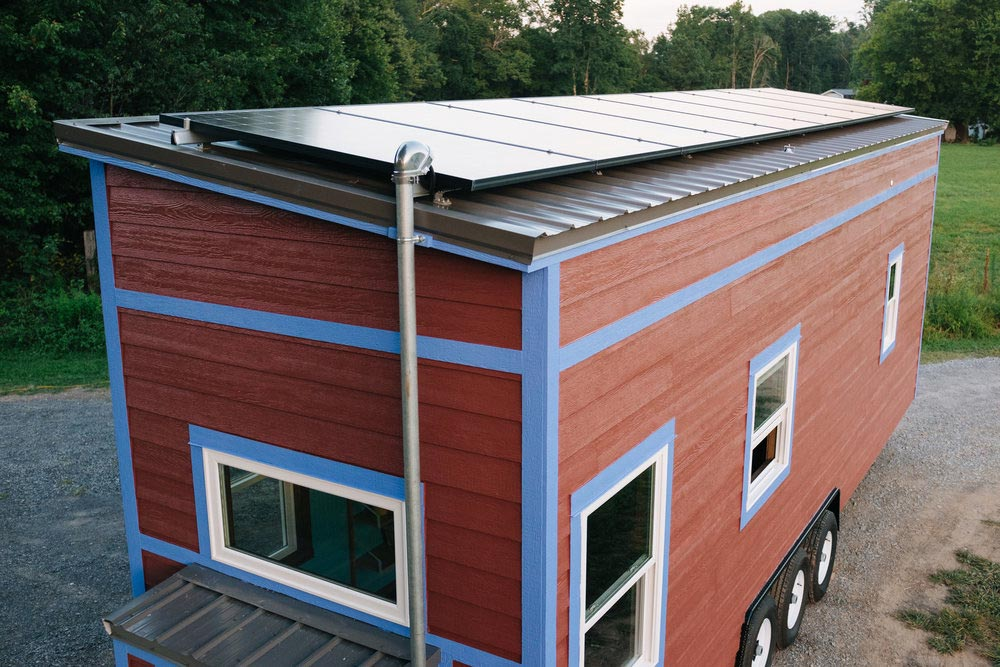 Solar Panels - Big Whimsy by Wind River Tiny Homes
