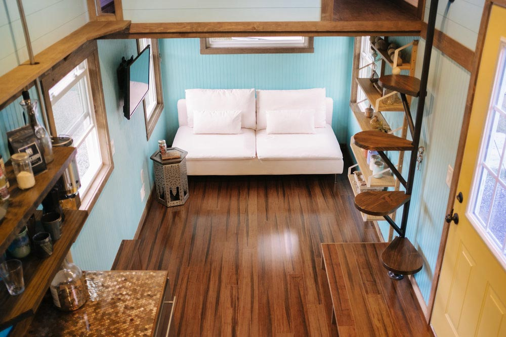 Living Room - Big Whimsy by Wind River Tiny Homes