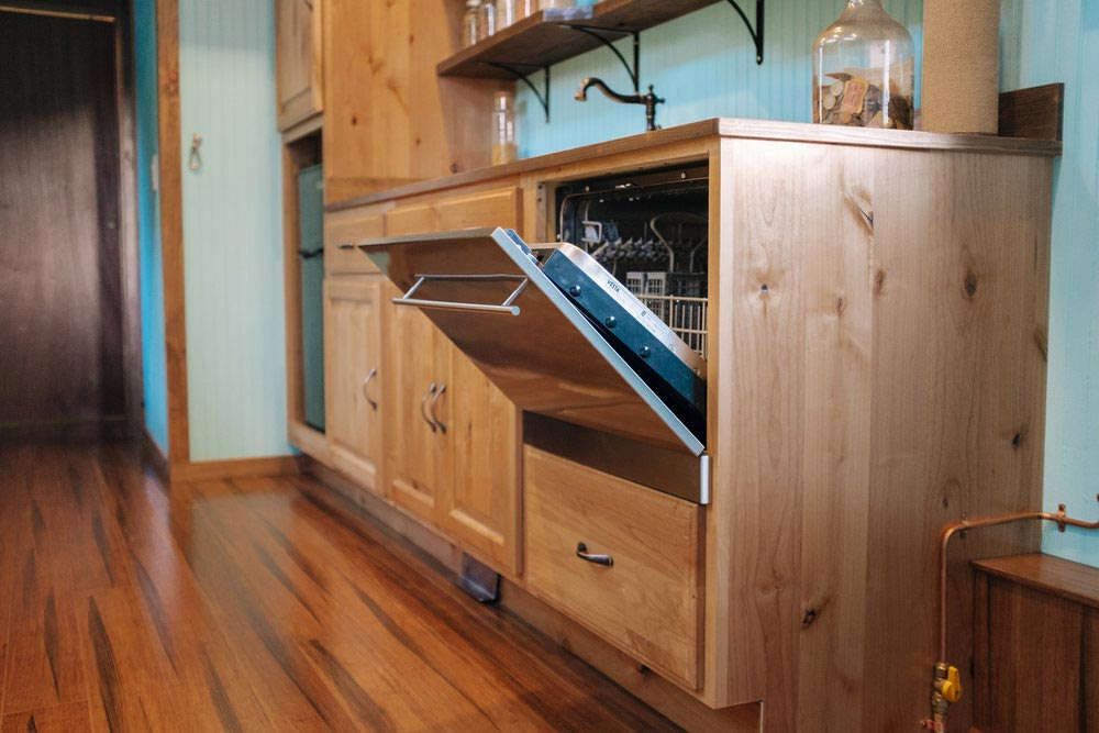 Kitchen w/ Dishwasher - Big Whimsy by Wind River Tiny Homes