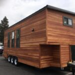 Orey & Jenna's Tiny House by California Tiny House