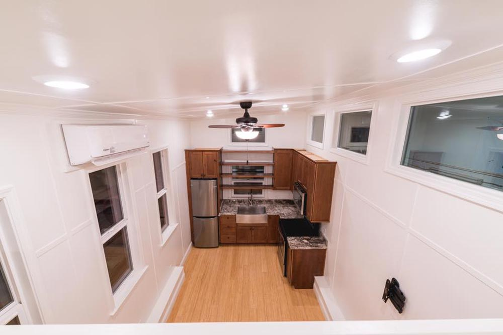 View From Loft - Custom Tiny by California Tiny House
