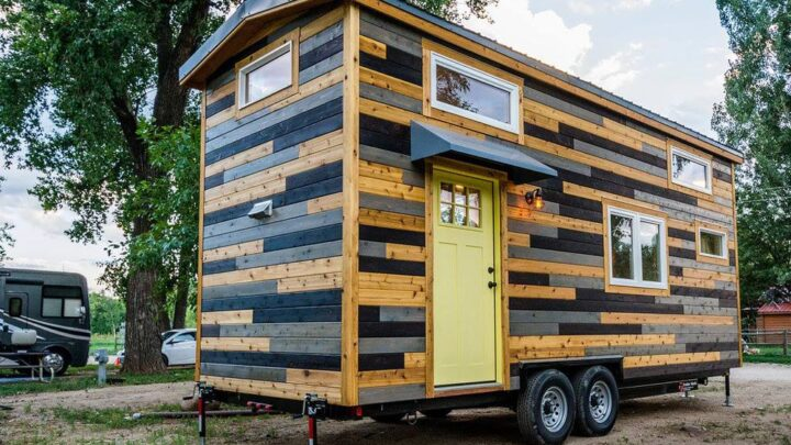 Curtis & April's Tiny House by Mitchcraft Tiny Homes