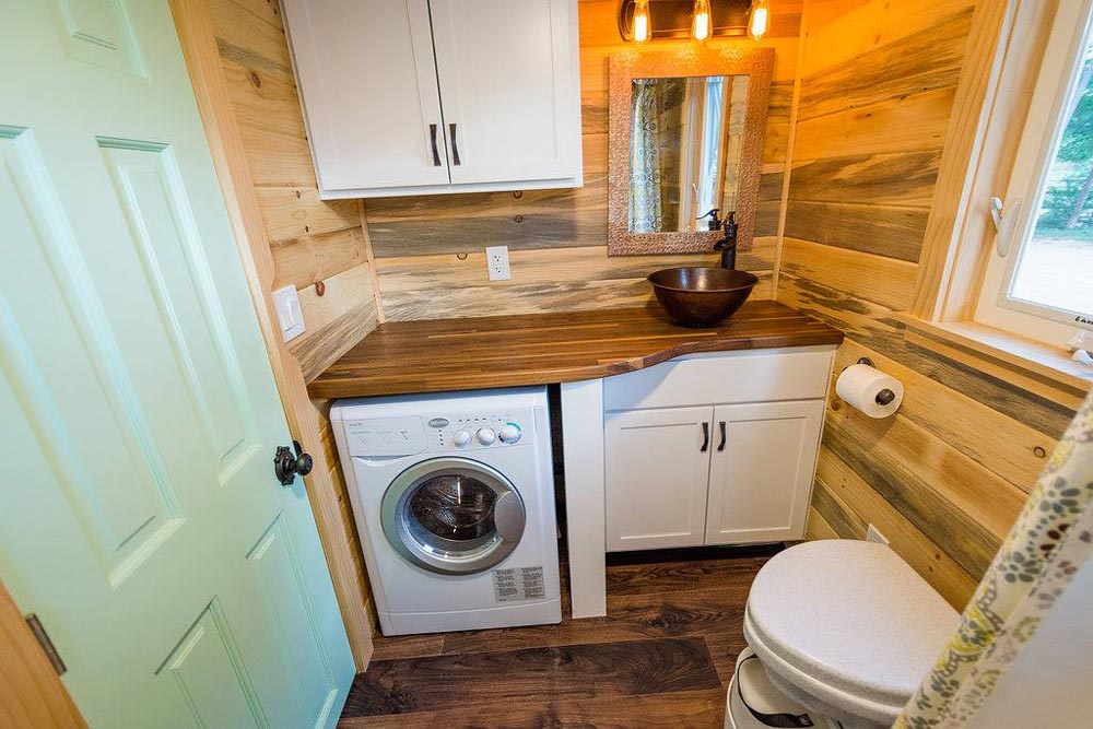 Bathroom - Curtis & April's Tiny House by Mitchcraft Tiny Homes