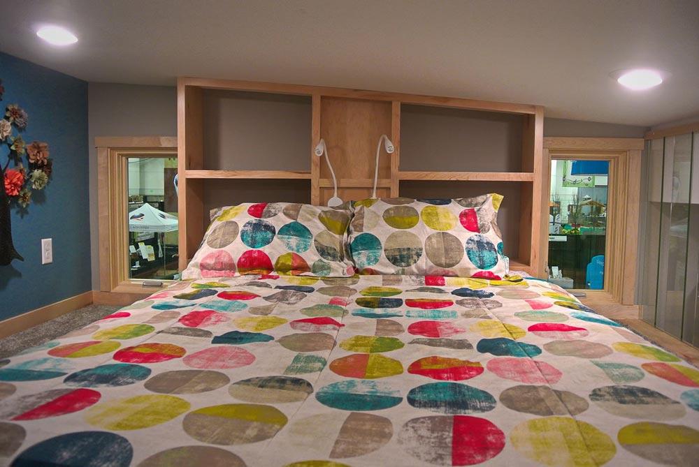 Bed w/ Storage Headboard - Denali by Utopian Villas