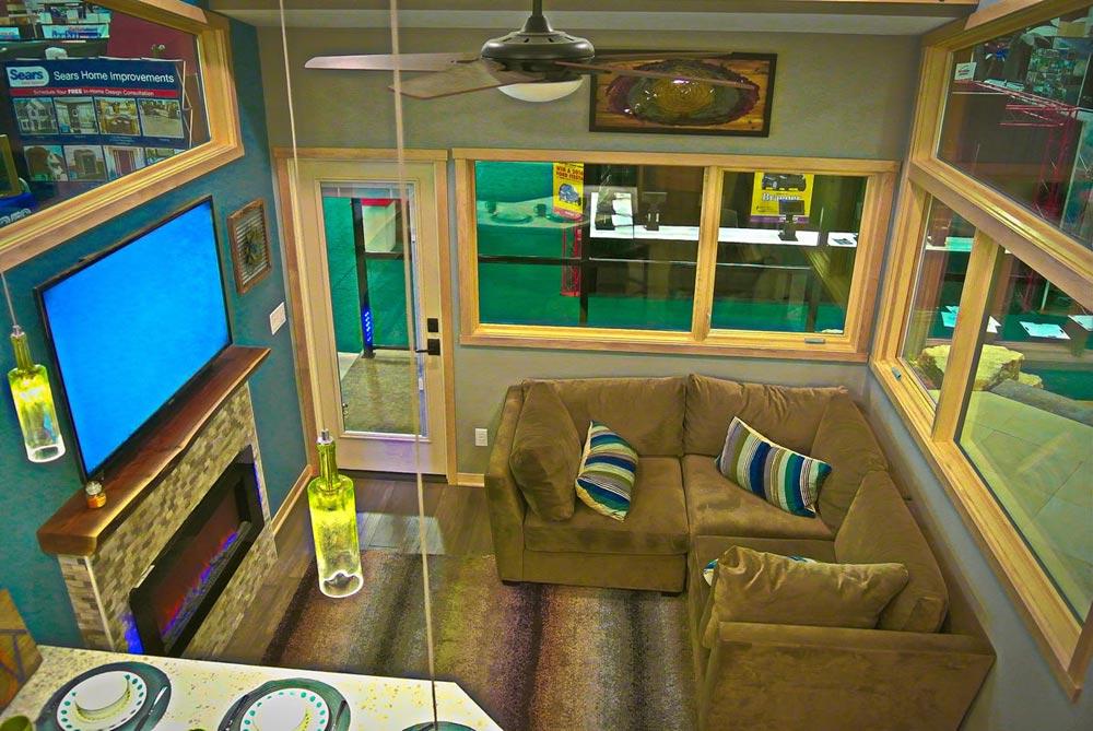 Living Room - Denali by Utopian Villas