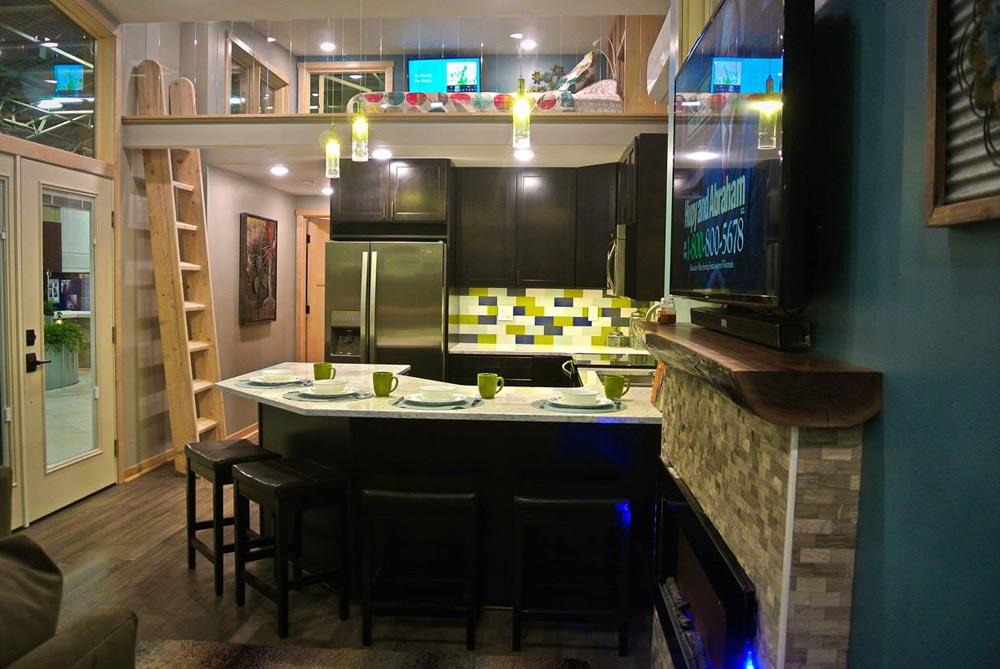 Large Kitchen - Denali by Utopian Villas