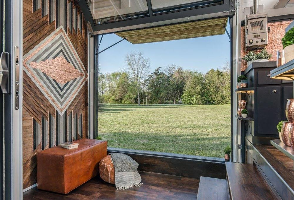 Garage Door - Escher by New Frontier Tiny Homes