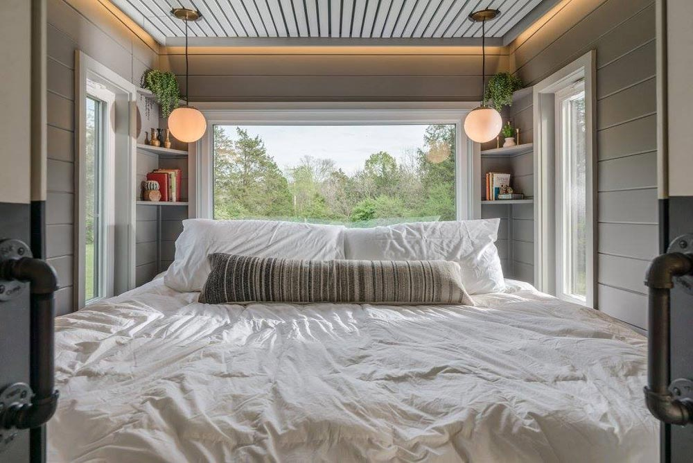 Main Floor Bedroom - Escher by New Frontier Tiny Homes