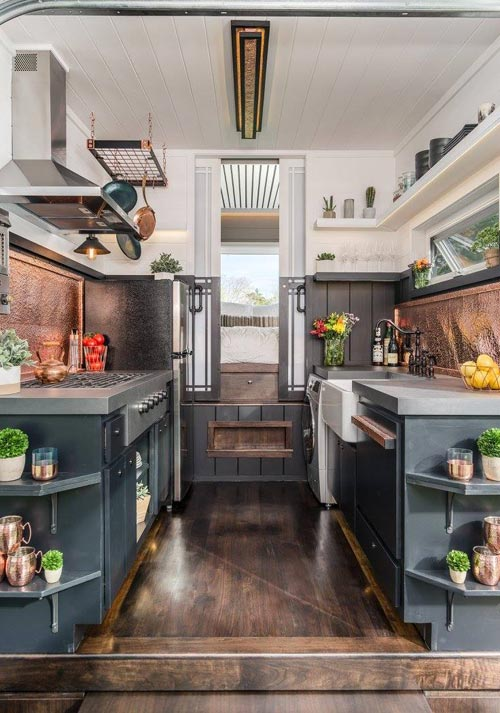 Kitchen - Escher by New Frontier Tiny Homes