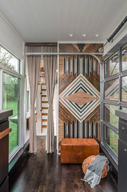 Feature Wall - Escher by New Frontier Tiny Homes