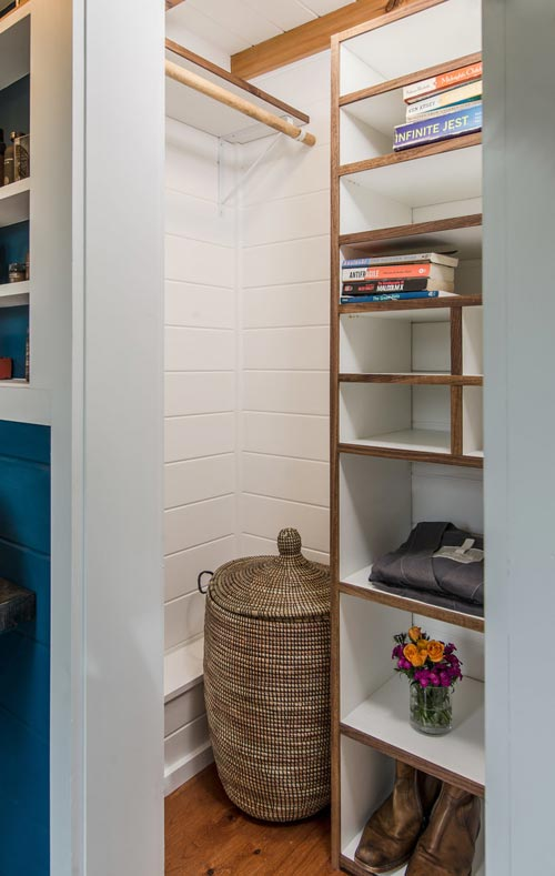 Closet - Escher by New Frontier Tiny Homes