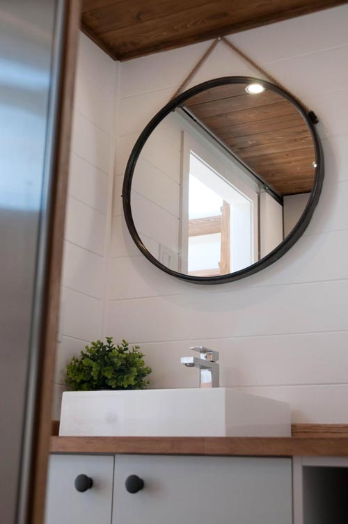 Bathroom Mirror - Eucalyptus by Minimaliste