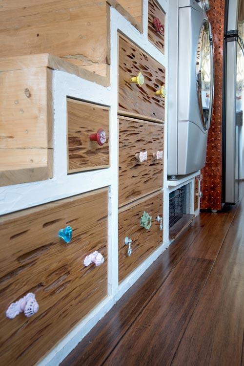 Storage Stairs - Gypsy Mermaid Tiny House