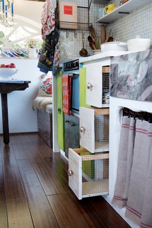 Storage Space - Gypsy Mermaid Tiny House