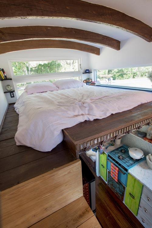 Bedroom Loft - Gypsy Mermaid Tiny House