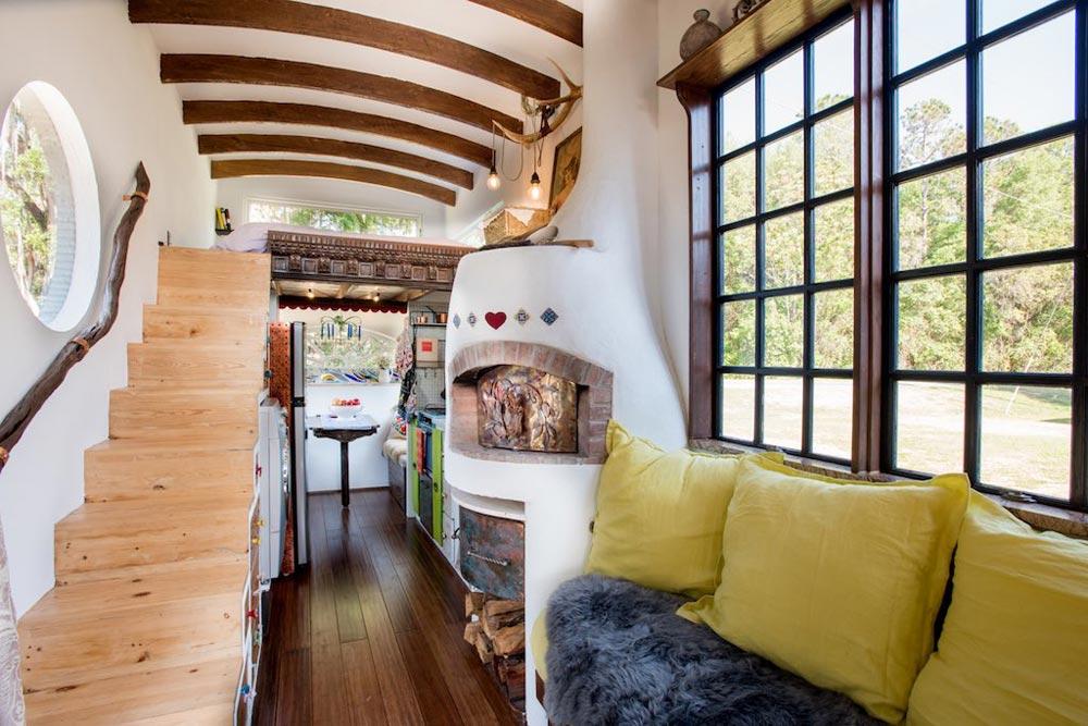 Brick Oven - Gypsy Mermaid Tiny House