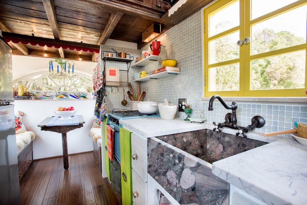 Kitchen - Gypsy Mermaid Tiny House
