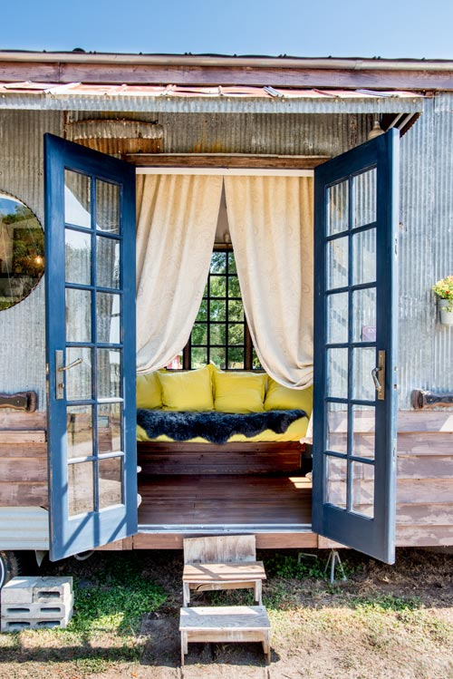 French Doors - Gypsy Mermaid Tiny House