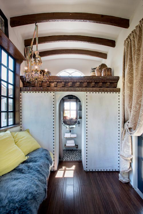 Living Area - Gypsy Mermaid Tiny House