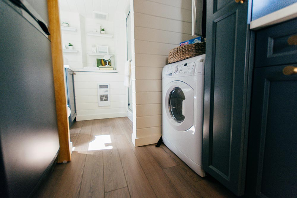 Laundry Area - Not So Lonely Wanderer by Teacup Tiny Homes