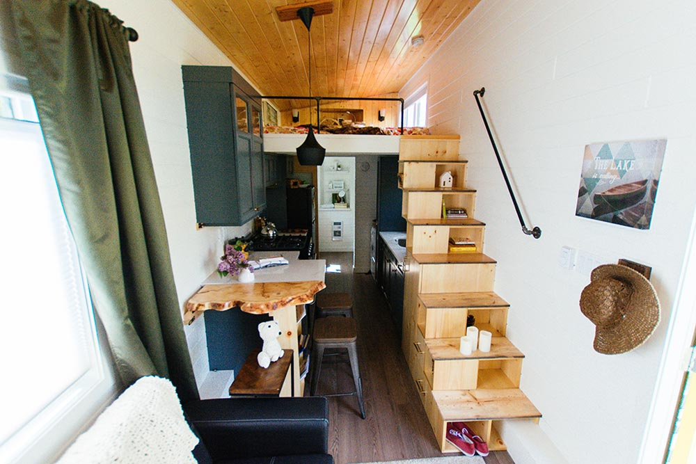View From Living Area - Not So Lonely Wanderer by Teacup Tiny Homes