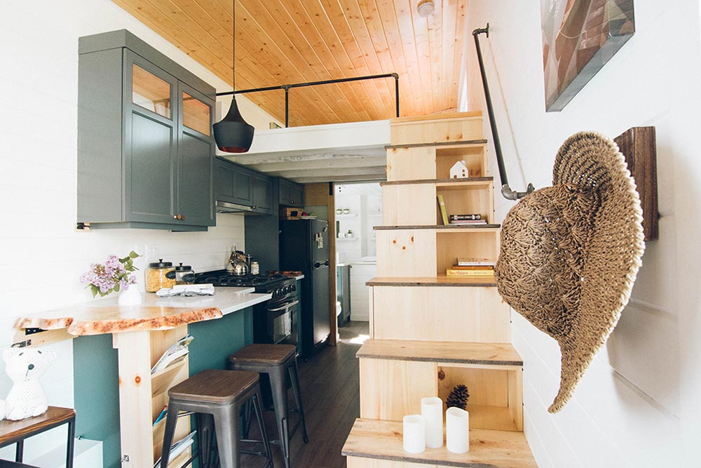 Tiny House Interior - Not So Lonely Wanderer by Teacup Tiny Homes