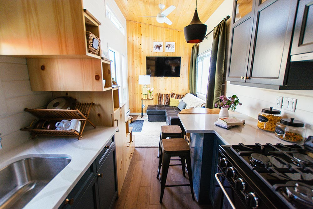 Living Area - Not So Lonely Wanderer by Teacup Tiny Homes