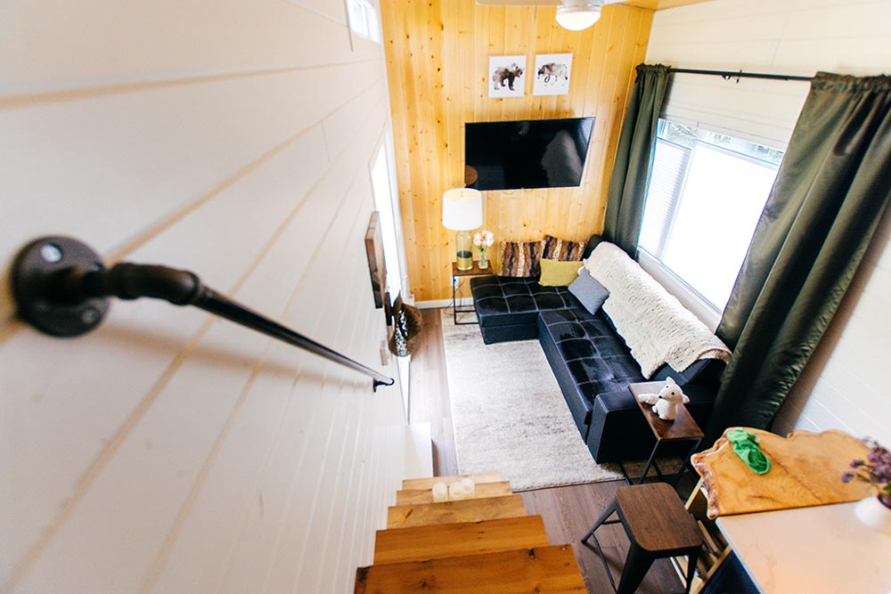 View From Bedroom - Not So Lonely Wanderer by Teacup Tiny Homes