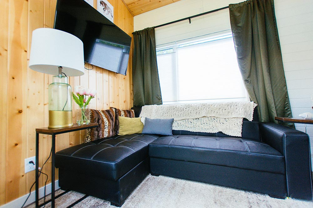 L-Shaped Couch - Not So Lonely Wanderer by Teacup Tiny Homes
