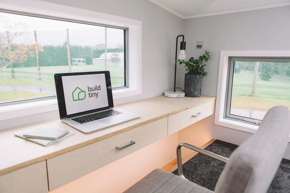Office Loft - Millennial Tiny House by Build Tiny