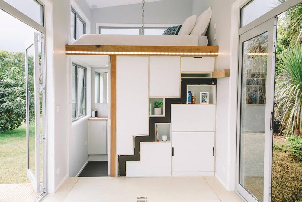 Living Area - Millennial Tiny House by Build Tiny