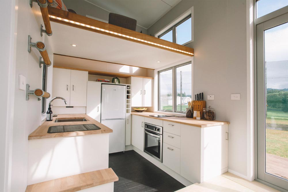 Full Kitchen - Millennial Tiny House by Build Tiny
