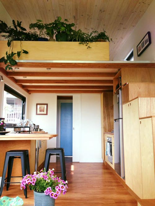 Kitchen - Australian Zen Tiny Home
