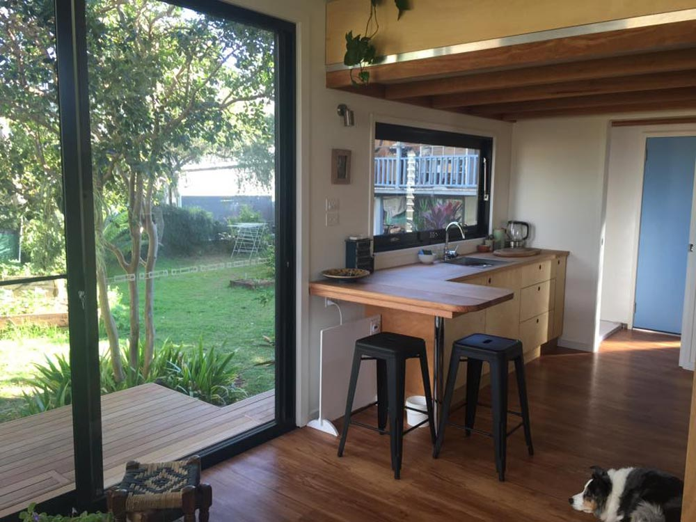 Sliding Glass Door - Australian Zen Tiny Home
