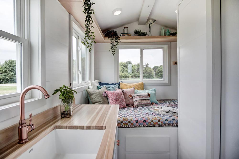 Tiny House Interior - Nugget by Modern Tiny Living