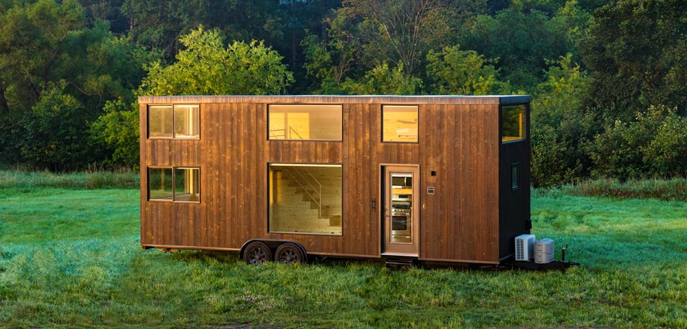 Escape one xl by escape traveler tiny living for Micro mobile homes for sale