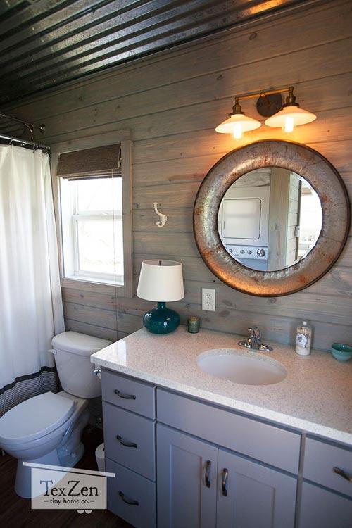 Bathroom - Open Concept by TexZen Tiny Home Co.
