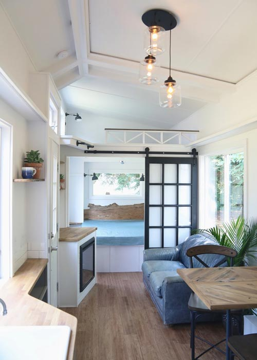 Tiny House Interior - Pacific Pearl by Handcrafted Movement
