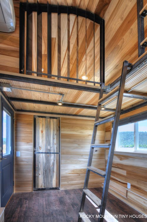 Loft Ladder - Pemberley by Rocky Mountain Tiny Houses