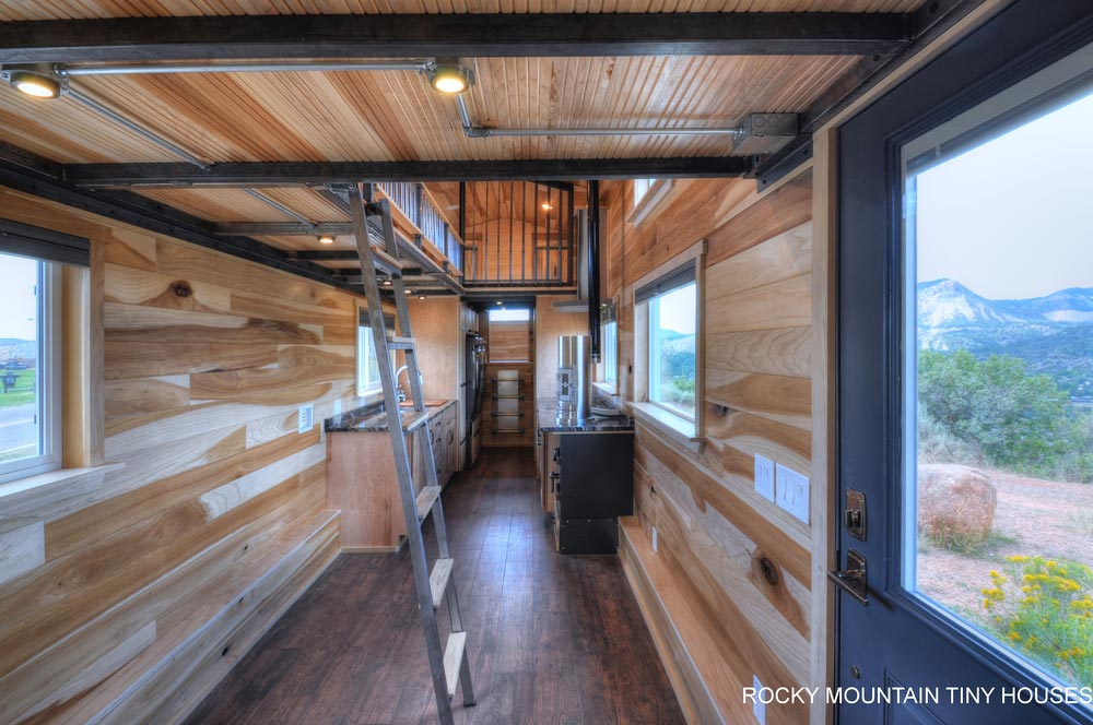 Living Room - Pemberley by Rocky Mountain Tiny Houses