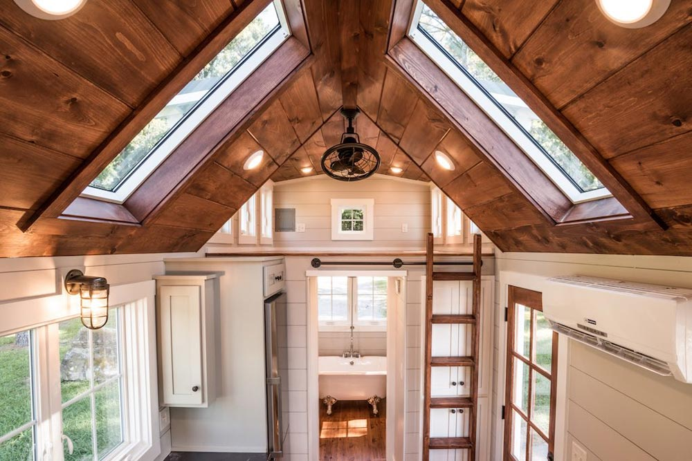 Dual Skylights - Ridgewood by Timbercraft Tiny Homes