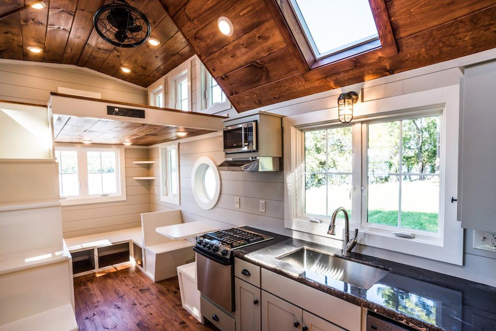 Kitchen w/ Full Size Appliances - Ridgewood by Timbercraft Tiny Homes