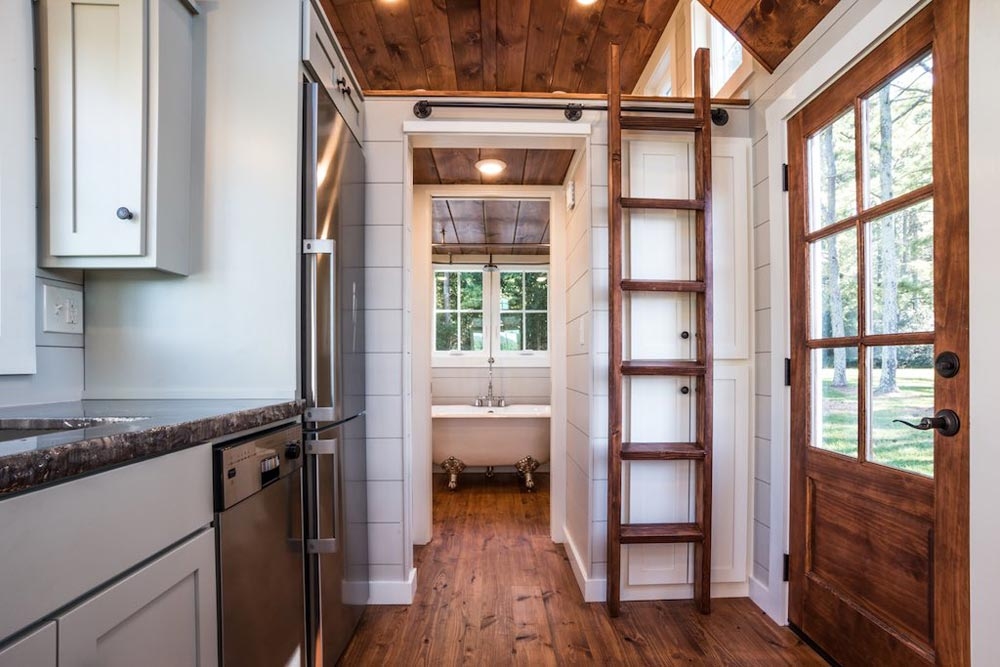 Entryway - Ridgewood by Timbercraft Tiny Homes